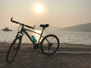 Mumbai To Goa Cycling Tour ????‍♀️ Solo Via Coastal Route