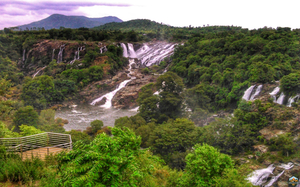 Shivasamudram Waterfalls- Where beauty rises