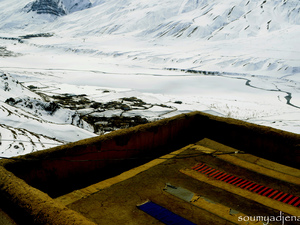 Halls of Silence,Key & Kibber - Spiti Valley in Winter