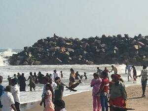 Poompuhar... the legendary beach!