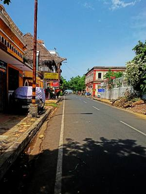 My first solo to the little French village, Pondicherry
