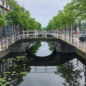 Fall in Love with this Cute, Romantic city an hour away from Amsterdam: Delft