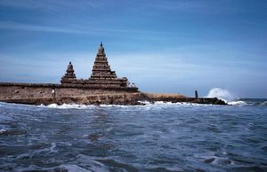 Mahabalipuram - Portraits on Sand & Stones