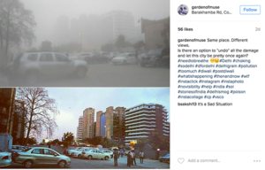 Travellers Capture North India's Deadly Smog On Instagram, And It's Not Looking Good