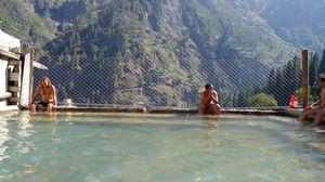 Kheer Ganga Hot Water Spring 1/2 by Tripoto