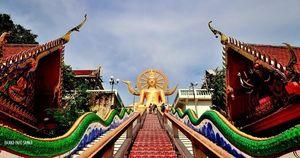 Wat Phra Yai Ko Pha-ngan Surat Thani Thailand 1/1 by Tripoto