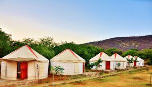 Most Delhiites Don't Know There's This Gorgeous Camping Site Just 200km Away From The City