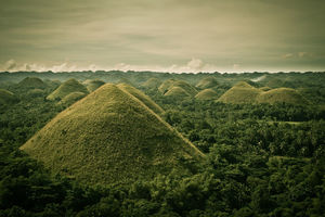 The Obscure Chocolate Hills Of The Philippines