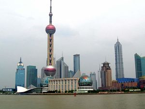 Oriental Pearl Tower 1/2 by Tripoto