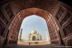 Seen And Unseen Perspective Of Taj Mahal, Agra
