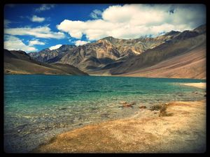 A Humble Fringe – Dhankar Lake