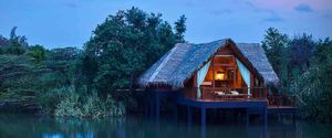 Jetwing Hotel's Vil Uyana Lodge In Sigiriya Is An Eco-Lodge In The Middle Of A Lake In Sri Lanka!