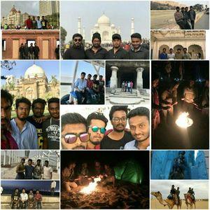 Mumbai-Gujarat-Rajasthan-Uttar pradesh