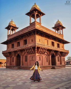 Diwan-E-Khas at Jodha Bai's Palace, Fatehpur Sikri