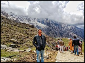 Beautiful Mountains in Kedarnath