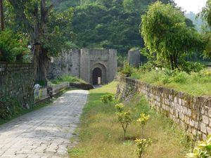 One of the few beautiful forts from the Mountains of India @Kangra Fort