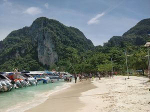 Krabi and Phi phi Island in Thailand