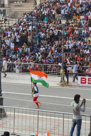 Wagah Border - Only place where India & Pakistan reunite everyday