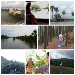 Kerala: Alleppey houseboat and Vagamon in 4 days #southindiaitinerary