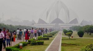 Bahai Lotus Temple 1/14 by Tripoto