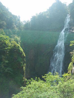 Hidden treasures of Shivamogga-Vertical climb at 'Dabbe falls' !!