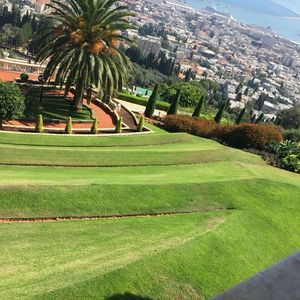 Bahai Garden, Haifa and Old city Akko, Israel