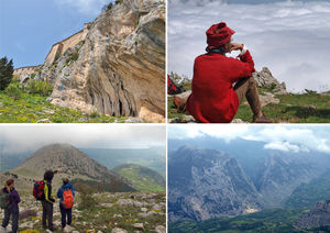 In The Steps of Pilgrims: Sellaro Mountain,Calabri