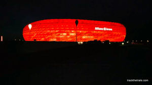 A football feast in the home of Bavarians- Allianz Arena