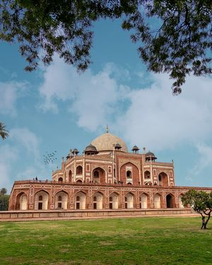 A quick preview of Humayun's Tomb