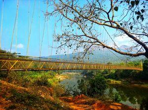 Hanging Bridge Kalasa