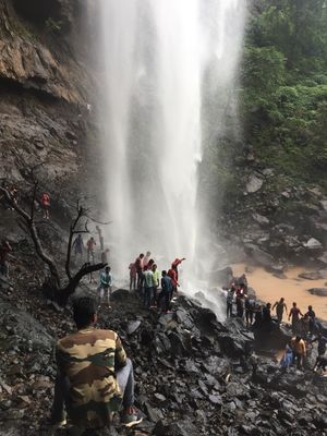 One day bike trip to shankar waterfall