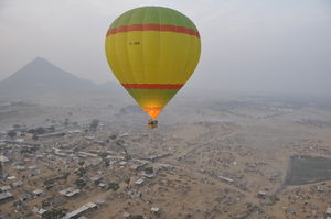 Turkey too far? Here are all the places to enjoy a hot-air balloon ride in India