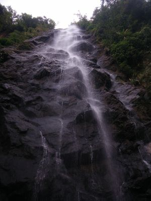 Water-fall hopping in Araku valley