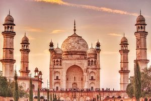 Did you know that there are five other Taj Mahals in the country? All beautiful in their own right!