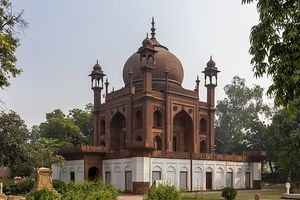 Red Taj Mahal Replica (Grave Of Jhon Willam Hessing) 1/undefined by Tripoto