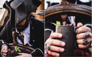 Set Aboard As Pirates & Embark On A Treasure Hunt At This Ship Cocktail Bar.