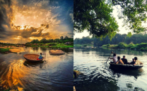 7 South-Indian Towns For An Authentic Basket Boat Ride With A View.
