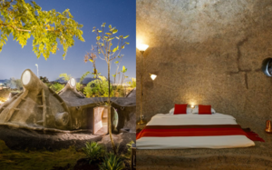 Sleep Inside A Cave At This Villa In Nashik, For An Off-beat Weekend Stay.