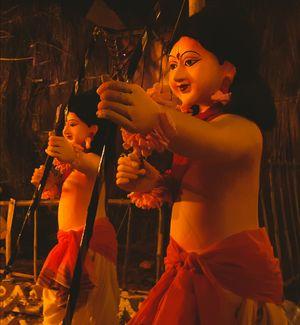 Durga Puja in Bundelkhand