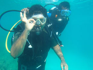Life time experience of scuba diving and snorkling:
