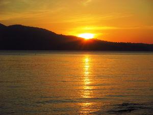 Sunset at Chidiya Tapu,Port Blair