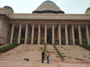 Rashtrapati Bhawan - Most powerful building #bestweekendtrip #Delhi