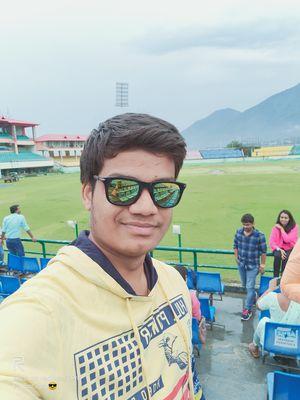 #SelfieWithAView #TripotoCommunity #dharamsahala #macleodganj #stadium
