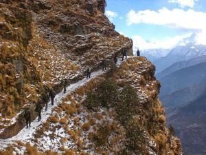Winter Kuari Pass -  Snowfall or summit?