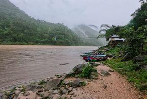 Flooded shnongpdeng.