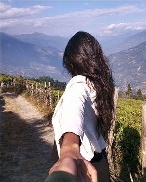 South Sikkim has a picturesque tea garden