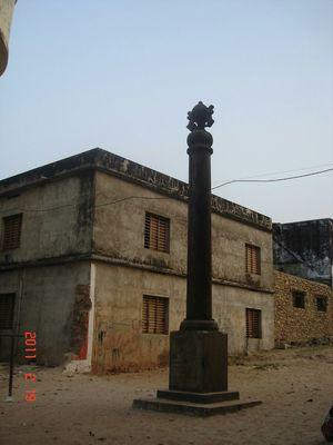 Kolachal War Memorial.
