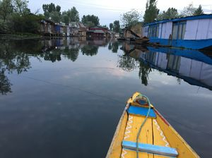 The enchanting Reflection Of Dal Lake