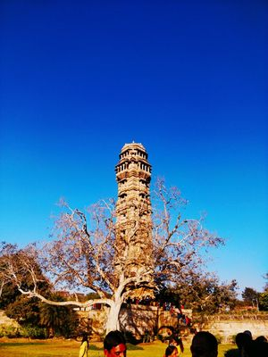 "Royal ride to Rajasthan's pride ""Chittorgarh Fort"" where everything else feels small"