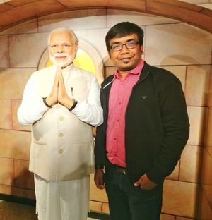 My voyage to the Madame Tussauds Museum - Vivek Banka